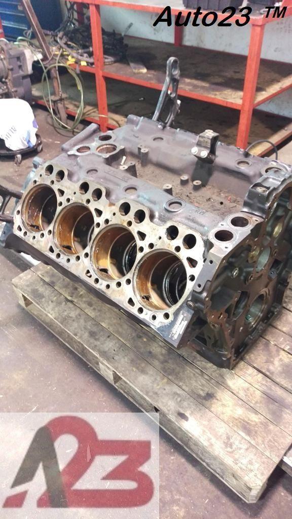 LIEBHERR D28 E5 Crankcase MAN V8 (D2868LF) cylinder block for excavator