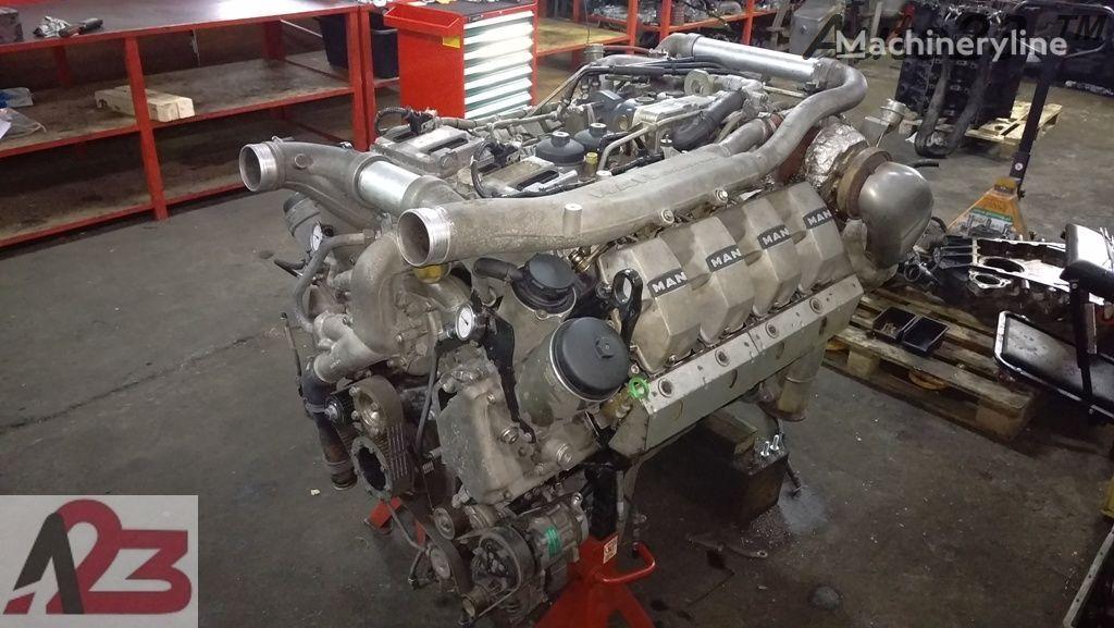LIEBHERR V8 D2868LF Euro5 680km MAN D2868LF V8 Naprawa a engine for excavator